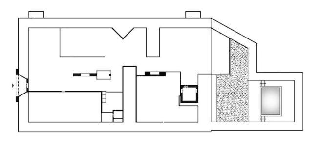 piantina casa grande fratello 13